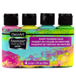 Multi-Surface Brights Pouring Kit DASK469 4 x 59ml