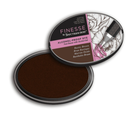 Spectrum Noir ovale Inktkussen - Finesse Alcohol-proof - Rustic Brown