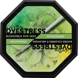 Clearsnap Colorbox Dyestress Blendable Dye Ink Full Size Inchworm (23118)