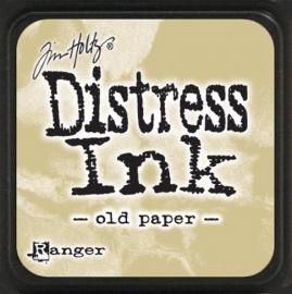 Distress Mini Ink Pad Old paper TDP40057