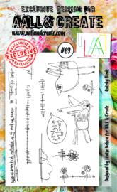 AALL & Create A6 Stamp set #69