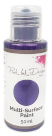 Pink Ink Multi Surface Paint Imperial Purple Lustre