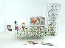 Nuvo pen display acryl standaard (leeg) 981N