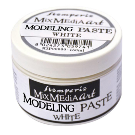 Stamperia Modelling Paste 150ml White (K3P38W)