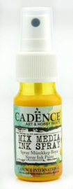 Cadence Mix Media Inkt spray Geel 01 034 0002 0025 25 ml