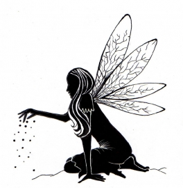 Lavinia Fairy Dust Silhouette LAV125