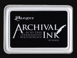 Ranger - Archival Ink Pads - Jet Black  AIP31468