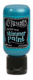Ranger Dylusions Shimmer Paint Flip Cap Bottle - Calypso Teal DYU74380