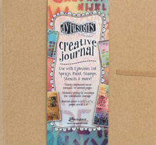 Dyan Reaveley's Dylusions creative journal square 22 x 22 cm DYJ38429