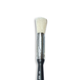 Stamperia Oblique Head Brush No. 0 (KR45)