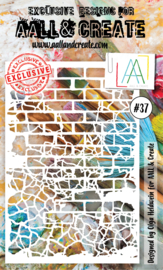 """AALL & Create 6""""x4"""" Stencil #37"""