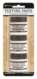 Ranger Texture Paste 3x1oz Tekst.Paste,Transp. Matte & Gloss INK48084