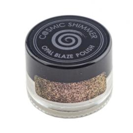 Cosmic shimmer opal blaze polish Golden blackberry