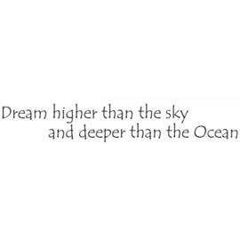 Deeper than the Ocean LAV447