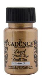 Cadence Dora metallic verf Brons 01 011 0167 0050 50 ml
