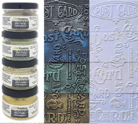 CraftEmotions Wax Paste chameleon 1 4x20 ml /4150 /4250 /4350 /4900 302690/4001