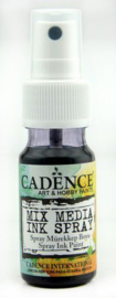 Cadence Mix Media Inkt spray Zwart 01 034 0012 0025 25 ml