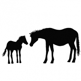 Horse and Foal LAV006