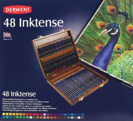 Derwent Inktense 48 st houten doos DIP2300151 325008/0148