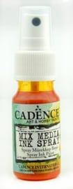 Cadence Mix Media Inkt spray Oranje 01 034 0004 0025 25 ml