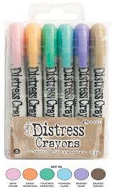 Distress Crayons set 5 TDBK51756