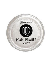 QuickCure Clay Pearl Powders White, 0.25oz - QCP71723