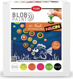 800199200 - Blob Paint FarbSet Fisch