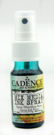 Cadence Mix Media Shimmer metallic spray Groen 01 139 0010 0025 25 ml
