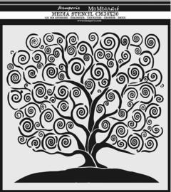 Stamperia Thick Stencil 30x30cm Tree of Life (KSTDG05)