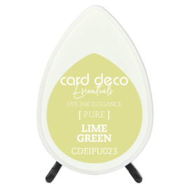 Card Deco Essentials Fade-Resistant Dye Ink Lime Green  CDEIPU023