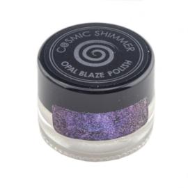 Cosmic shimmer opal blaze polish Sapphire grape