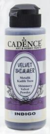 Cadence Velvet shimmer powder Indigo 01 099 0005 0120 120 ml