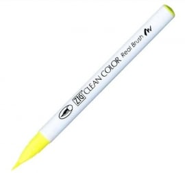 ZIG Clean color real brush Yellow 001