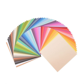 Florence • Cardstock Texture multipack 15,2x15,2cm Assorti 2923-199 60 st.