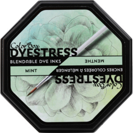 Clearsnap Colorbox Dyestress Blendable Dye Ink Full Size Mint (23114)