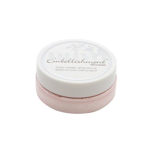 Nuvo Embellishment mousse - poppy pink 834N