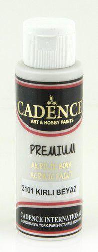 Cadence Premium acrylverf (semi mat) Dirty - wit 01 003 3101 0070 70 ml