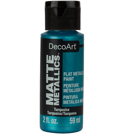 Matte Metallics Turquoise DMMT11-30 59 ml