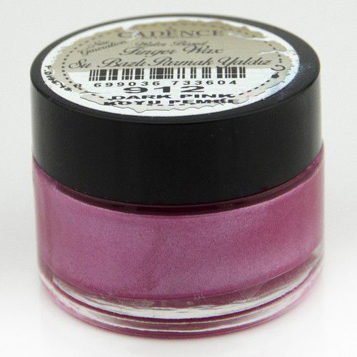 Cadence Water Based vinger Wax Donker roze 01 015 0912 0020 20 ml