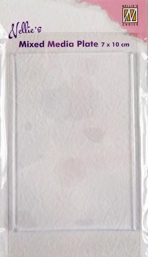 Nellies Choice Gelplate rechthoek 7 x10cm NMMP003