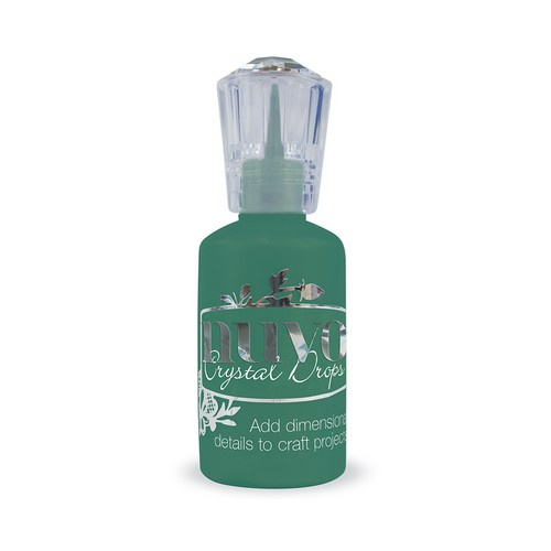 Nuvo crystal drops - woodland green 663N