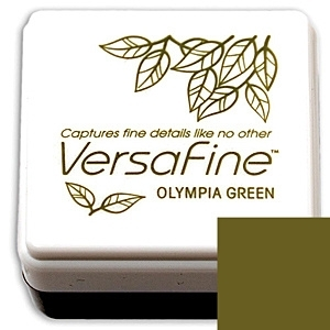 Olympia Green Versafine Small Pad