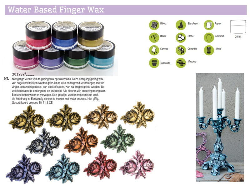 Cadenc Water Based Vinger Wax