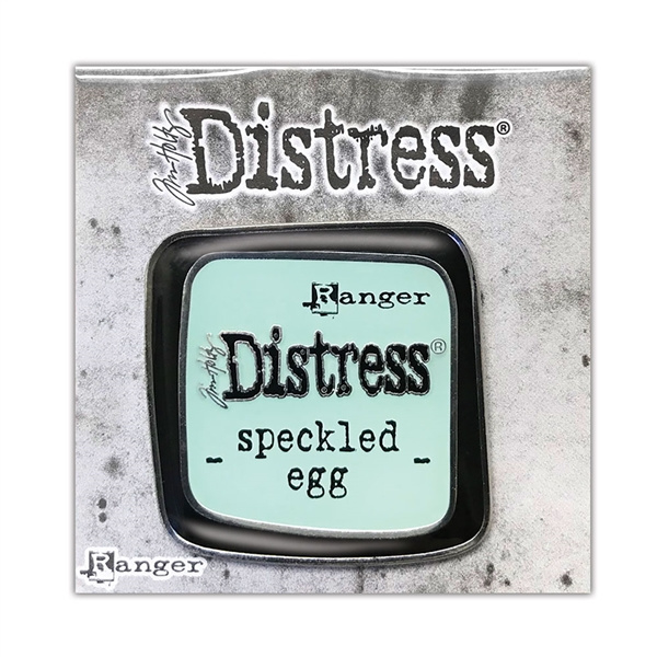 Distress Color Enamel Pin - Speckled Egg TDZ73123