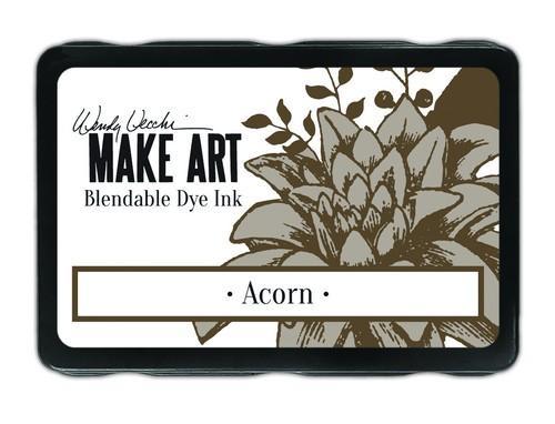 Ranger MAKE ART Dye Ink Pad Acorn WVD62561 Wendy Vecchi 5,8x8,3cm