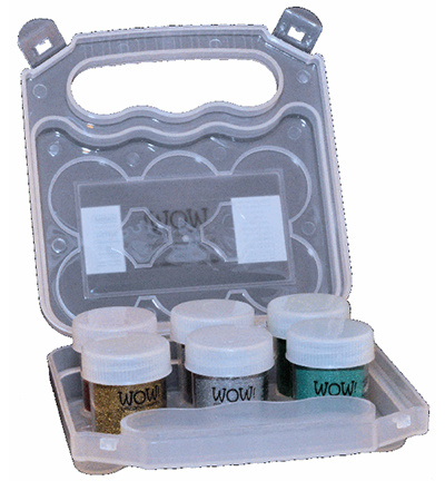 Powder Arts Empty Wow Embossing Kit Case ZAC6