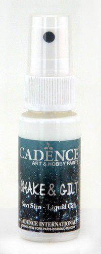 Cadence shake & gilt liquid gilt spray Parelmoer 01 074 0005 0025 25 ml