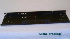 Montageplaat  (210 mm)  tbv een lier
