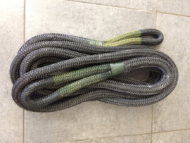 Kinetische recovery rope  Finish Strong  19mm x 9mtr  SWL: 11T