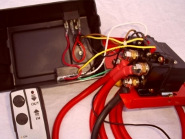 Complete Relaisset  tbv een lier / winch ( Groot model ) 12V / 24V